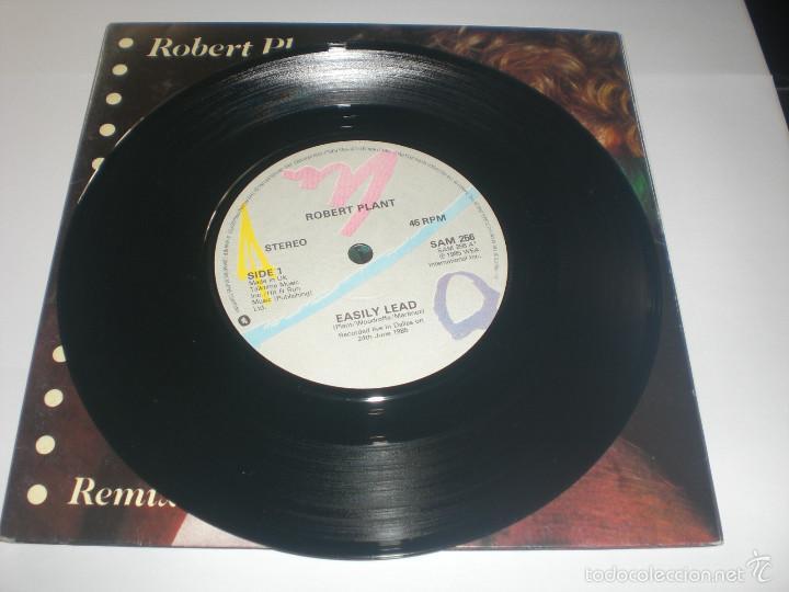 Discos de vinilo: 2 SINGLE ROBERT PLANT - LITTLE BY LITTLE - ES PARANZA RECORDS UK 1985 VG+ GATEFOLD - Foto 6 - 59031645
