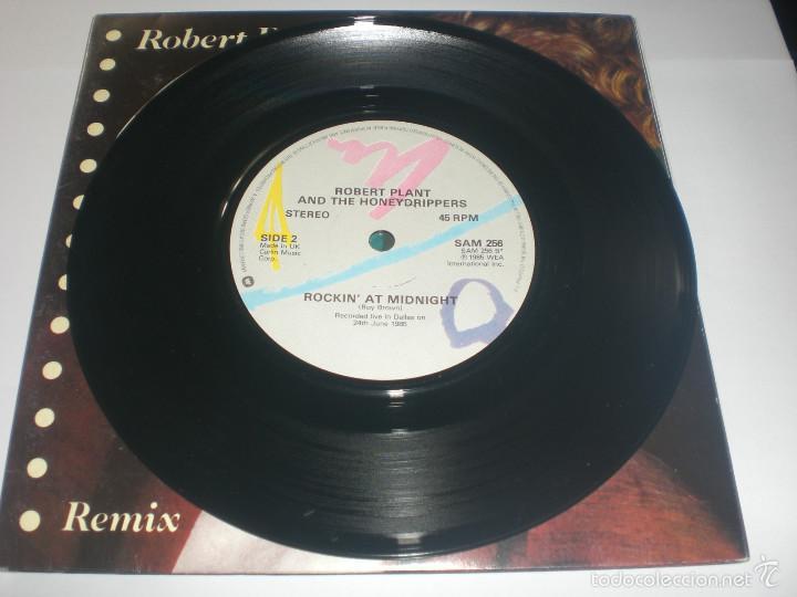 Discos de vinilo: 2 SINGLE ROBERT PLANT - LITTLE BY LITTLE - ES PARANZA RECORDS UK 1985 VG+ GATEFOLD - Foto 7 - 59031645