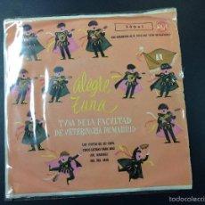 Discos de vinilo: ALEGRE ZUNA TUNA DE LA FACULTAD DE VETERINARIA DE MADRID. Lote 59031700