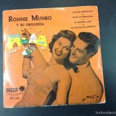 Discos de vinilo: RONNIE MUNRO Y SU ORQUESTA. Lote 59041560