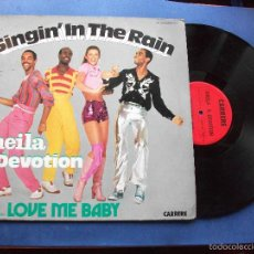 Discos de vinilo: SHEILA B. DEVOTION - SINGIN' IN THE RAIN INCLUDING LOVE ME BABY (LP, ALBUM) PEPETO. Lote 59071235