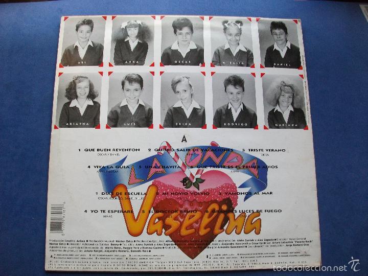Discos de vinilo: LA ONDA VASELINA. PRIMER LP 1991 BUEN ESTADO¡¡ PEPETO - Foto 2 - 59075015