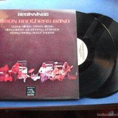 Discos de vinilo: THE ALLMAN BROTHERS BAND - BEGINNINGS - (ESPAÑA-CAPRICORN-1975) ROCK SUREÑO 2 LP'S GATEFOLD. Lote 59075570