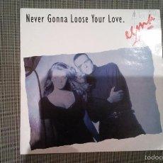 Discos de vinilo: EGMA-NEVER GONNA LOOSE YOUR LOVE.MAXI. Lote 59077430