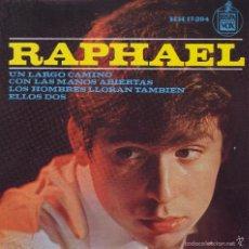 Discos de vinilo: RAPHAEL -- SINGLE EP. Lote 61114243