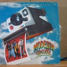 Discos de vinilo: MODESTIA APARTE - HISTORIAS SIN IMPORTANCIA - MERCURY 848 572-1 - 1991. Lote 59083905