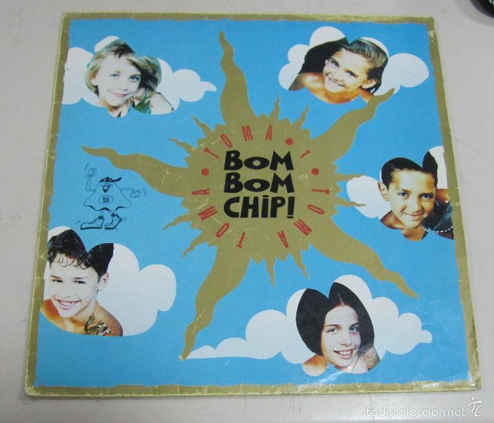 LP. BOM BOM CHIP!. TOMA, TOMA Y TOMA. WARNER MUSIC, MADRID. 1992 (Música - Discos - LP Vinilo - Grupos Españoles de los 90 a la actualidad)