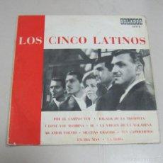 Discos de vinilo: LP. LOS CINCO LATINOS. POR EL CAMINO VOY / BALADA DE LA TROMPETA. CIRCULO DE LECTORES. 1967. Lote 59105320
