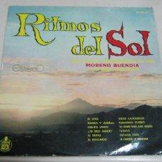 Discos de vinilo: LP. RITMOS DEL SOL. MORENO BUENDIA Y SU GRAN ORQUESTA. HISPAVOX, MADRID. Lote 59106150