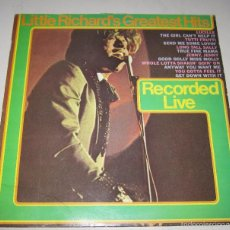 Discos de vinilo: LP. LITTLE RICHARD'S GREATEST HITS. RECORDED LIVE. 1967. CBS. Lote 59108160
