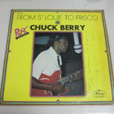 Discos de vinilo: LP. CHUCK BERRY. FROM ST LOUIE TO FRISCO. MERCURY RECORDS.. Lote 59108395