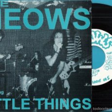 Disques de vinyle: MEOWS: LITTLE THINGS / DO RIGHT GIRL. Lote 59108525