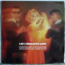 Discos de vinilo: JJ - LOS 3 SUDAMERICANOS LP AÑO 1971. Lote 59133855