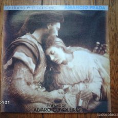 Disques de vinyle: AMANCIO PRADA - A DAMA E O CABALEIRO - POEMAS DE ALVARO CUNQUEIRO. Lote 59138745