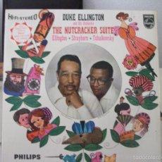Discos de vinilo: LP DE DUKE ELLINGTON AND HIS ORCHESTRA, THE NUTCRACKER SUITE (PHILLIPS SBBL 594 - ED. UK 1960). Lote 59158195