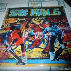 Discos de vinilo: SKATE BOARD 5 PORTADA ABIERTA DOBLE LP. Lote 59162365