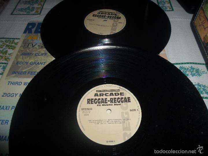 Discos de vinilo: REGGAE REGGAE ES MUCHO MAS DOBLE LP - Foto 2 - 59163165