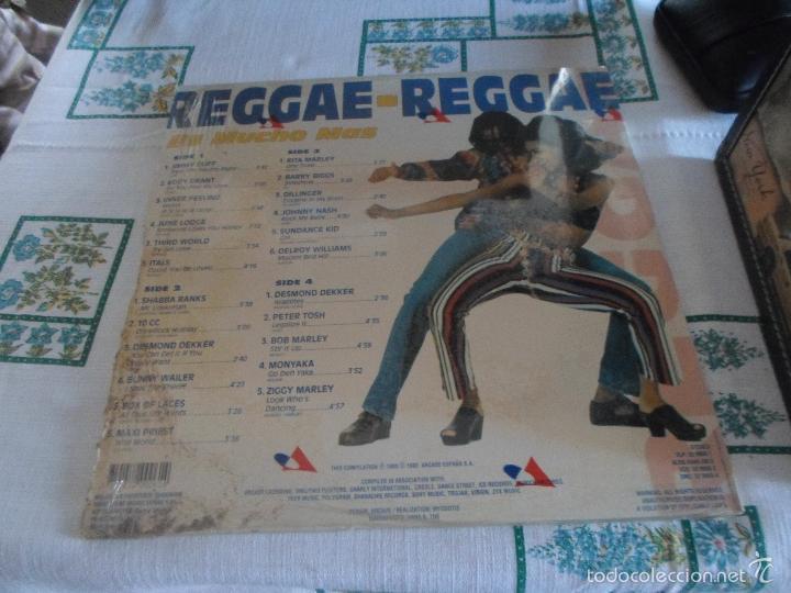 Discos de vinilo: REGGAE REGGAE ES MUCHO MAS DOBLE LP - Foto 3 - 59163165