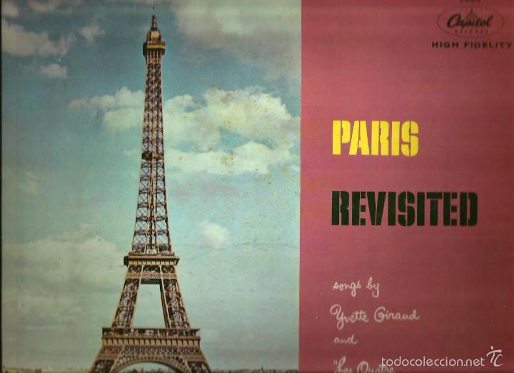 LP YVETTE GIRAUD & LES QUATRE DE PARIS : PARIS REVISITED (Música - Discos - LP Vinilo - Canción Francesa e Italiana)