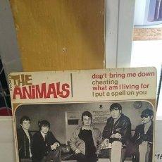 Discos de vinil: THE ANIMALS / DON'T BRING ME DOWN / EDICION FRANCESA / BARCLAY 1966. Lote 59171785