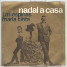 Discos de vinilo: ESPINÀS. MARIA CINTA. NADAL A CASA. EDIGSA 1963.. Lote 59201720