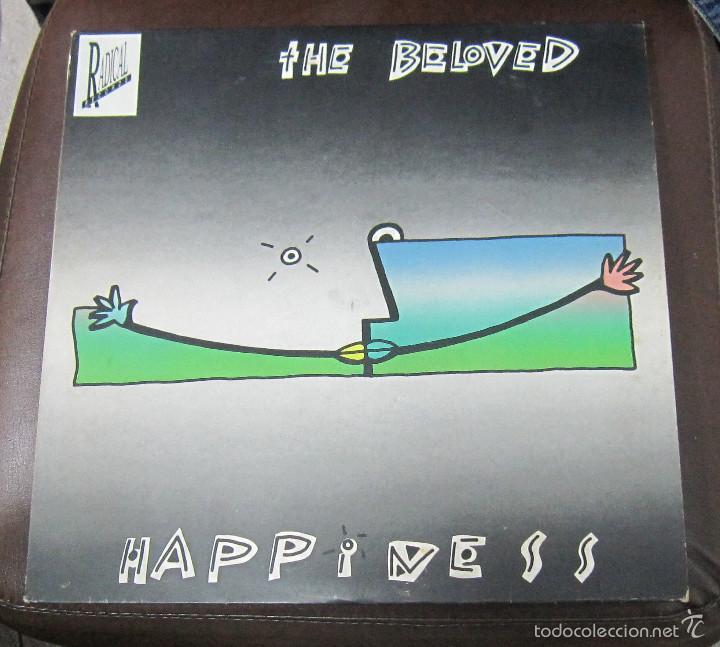 LP. THE BELOVED. HAPPINESS. 1990. WEA RECORDS (Música - Discos de Vinilo - Maxi Singles - Pop - Rock Extranjero de los 90 a la actualidad)