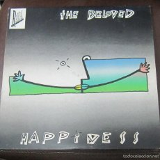 Discos de vinilo: LP. THE BELOVED. HAPPINESS. 1990. WEA RECORDS. Lote 59209365