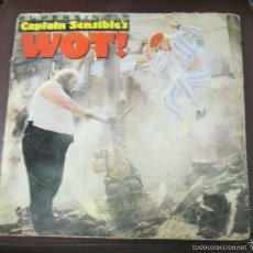 Discos de vinilo: LP. CAPTAIN SENSIBLE'S. WOT!. 1982. A&M RECORDS. Lote 59210820