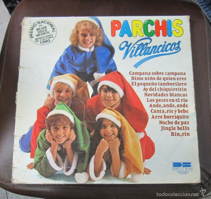 LP. PARCHIS. VILLANCICOS. BELTER, MADRID. 1981 (Música - Discos - LPs Vinilo - Música Infantil)