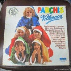 Discos de vinilo: LP. PARCHIS. VILLANCICOS. BELTER, MADRID. 1981. Lote 153605521