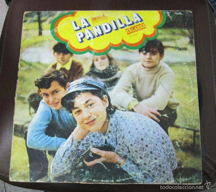 LP. LA PANDILLA. 1971. CIRCULO DE LECTORES. (Música - Discos - LPs Vinilo - Música Infantil)