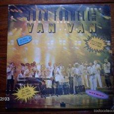 Discos de vinilo: JUAN FORMELL Y LOS VAN VAN - AQUI EL QUE BAILA GANA - EDICIÓN CUBANA. Lote 59290970