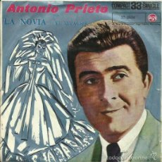 Discos de vinilo: ANTONIO PRIETO. SINGLE. SELLO RCA. EDIT. EN ESPAÑA. AÑO 1961. Lote 59308070