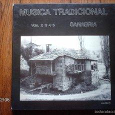 Discos de vinilo: MUSICA TRADICIONAL - SANABRIA - VOL 2 - 3 - 4 - 5. Lote 59325325