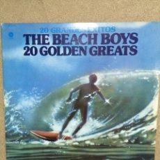 Discos de vinilo: THE BEACH BOYS 20 GOLDEN GREATS. Lote 59175363
