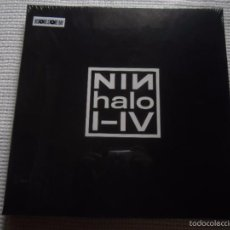 Discos de vinilo: NINE INCH NAILS - '' HALO I - IV '' 4 LP RECORD STORE DAY BOX SET LIMITED EDITION 2015 USA SEALED. Lote 59445435