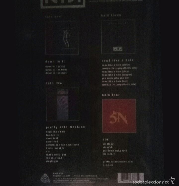 Discos de vinilo: NINE INCH NAILS - HALO I - IV 4 LP RECORD STORE DAY BOX SET LIMITED EDITION 2015 USA SEALED - Foto 2 - 59445435