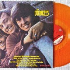 Discos de vinilo: MONKEES, THE - IDEM (SUNDAZED) LP USA- ENCARTE - VINILO NARANJA TRANSLUCIDO. Lote 59450370