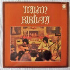 Discos de vinilo: MILAN & BIBILONI, IDEM (NOVOLA) LP - GATEFOLD. Lote 59453330
