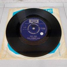 Discos de vinilo: PAUL & BARRY RYAN - MISSY MISSY - SG - 1966. Lote 59457710