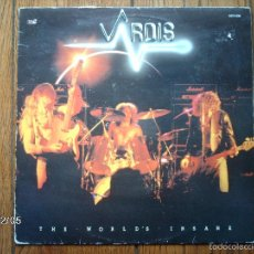 Discos de vinilo: VARDIS - THE WORLD´S INSANE. Lote 59462965
