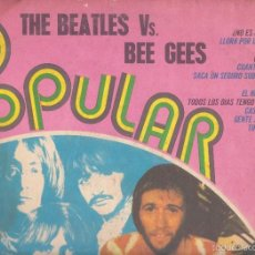 Discos de vinilo: VINILO THE BEATLES VS BE GEES. Lote 59464870