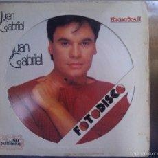 Discos de vinilo: JUAN GABRIEL FOTO DISCO. Lote 59465215