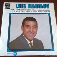 Discos de vinilo: LUIS MARIANO ACOMPAÑADO ORQUESTA - LP - 1969. Lote 59467110