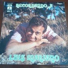 Discos de vinilo: LUIS MARIANO - RECORDANDO A - LP - 1972. Lote 59467180
