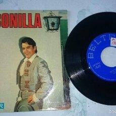 Discos de vinilo: EMI BONILLA: BEBÍ DE TUS LABIOS +3 (BELTER 1969) . Lote 59469555
