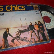 Discos de vinilo: 5 CHICS BUENOS DIAS SEÑOR/EL LARGO CAMINAR 7 SINGLE 1972 UNIK/EKIPO VINILO NUEVO. Lote 192125310