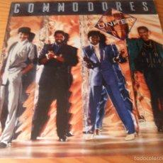 Discos de vinilo: COMMODORES - UNITED - LP 1986. Lote 59478594