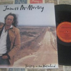 Discos de vinilo: JAMES MCMURTRY ?– TOO LONG IN THE WASTELAND (COLUMBIA-1989)+ENCARTE PROMO OG USA. Lote 46474316