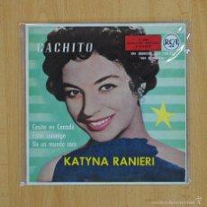 Discos de vinilo: KATYNA RANIERI - CACHITO + 3 - EP. Lote 59515409